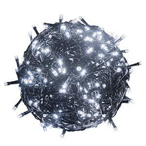 10M 20M 30M 50M 100M Cadena de Luces LED a Prueba de Agua 24VGuirnalda para Exteriores para árboles de Navidad Decoración de Boda para Fiestas de Navidad - Blanco, 30m 300leds