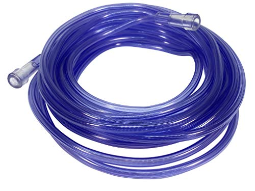 Westmed #0035 25' Purple Kink Resistant Oxygen Supply Tubing - Pack of 5