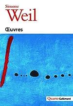 Œuvres de Simone Weil