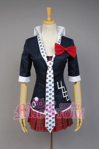 Dangan-Ronpa Junko Enoshima Cosplay Kostüm Größe L