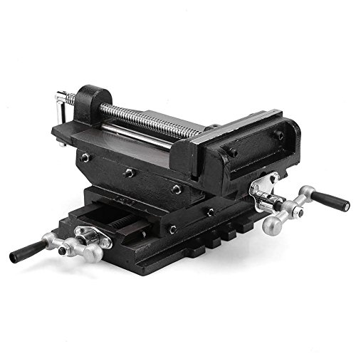 Schraubstöcke, 6-Zoll-Kreuzschlitten Maschinenschraubstock 150mm Bohrmaschine Schraubstock in Fräsmaschinen, Bohrmaschinen und Maschinenwartungen