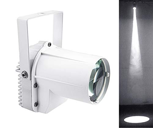 Mirror Ball Light, DJ Disco Ball Spotlight, 3w White LED Pin Spot Light