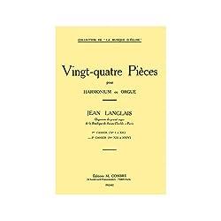 Pieces (24) Cahier N2 (13 a 24) --- Orgue Ou Harmonium