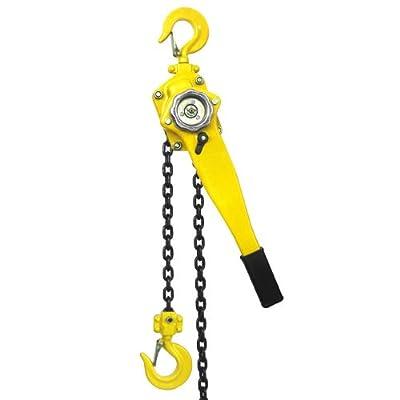 XtremepowerUS Lift Lever Block Chain Hoist Comealong Lift Puller