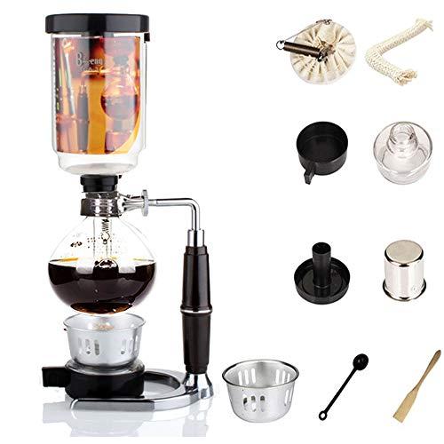 Siphon Kaffeemaschine Japanischen Stil Vakuum Glas Siphon Topf Percolators 1-3 Tassen Siphon Kaffeemaschine (Siphon)