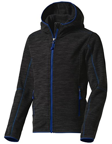 McKINLEY Kinder Choco II Fleecejacke, Anthracite/Black, 176