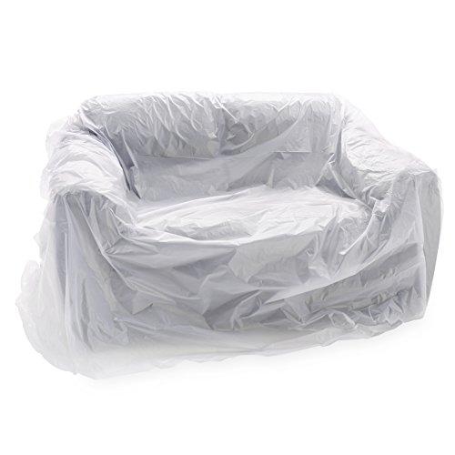 haggiy Möbelhülle - Sofahülle für Renovierung & Umzug für 2-Sitzer (250 x 140 cm)