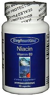 Allergy Research Group - Niacin (Vit B3) 90c