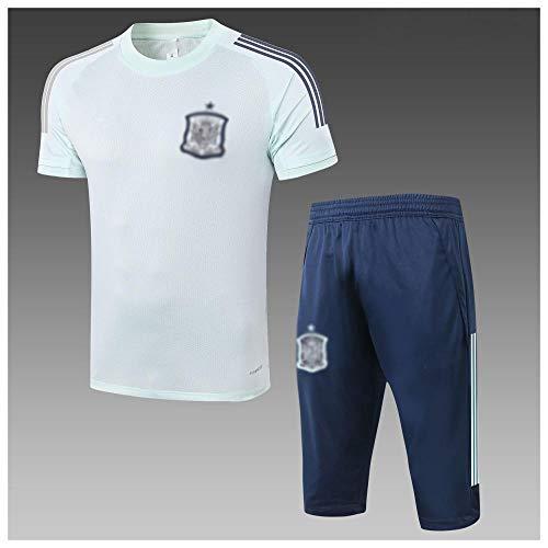 Nuevo Regalo de Uniforme de fútbol de los Hombres de fútbol de Manga Corta de fútbol de fútbol de fútbol de faniforme de faniforme de faniforme de fútbol Deportivo de fútbol-moda-10-Pequeño