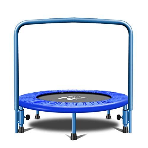 Mini Trampoline Kids volwassen vouwen ronde trampoline complete set inclusief springen vel berichten en handvat