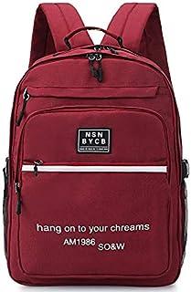 CDKET バックパックの女性のナイロンオックスフォード布男性と女性のカップルのバックパックの学生バッグの新しい韓国語版 CDKET