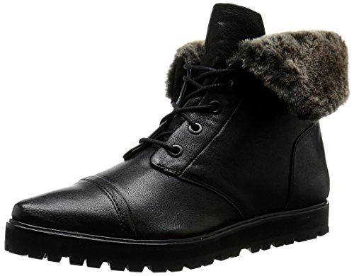 Calvin Klein Jeans Damen Tianna Boot, (Schwarz/Natur), 35.5 EU