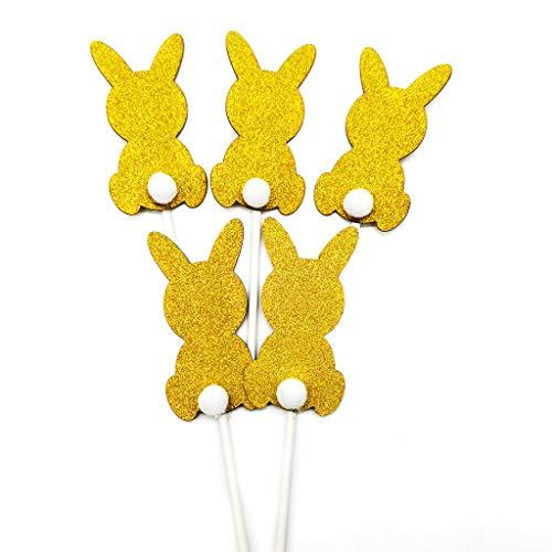 planuuik Verjaardag Decoratie Partij Konijn Gedrukt Banner Vlag Leuke Bunny Gevormd Papier Kaart voor Pasen Festival Decoratie benodigdheden