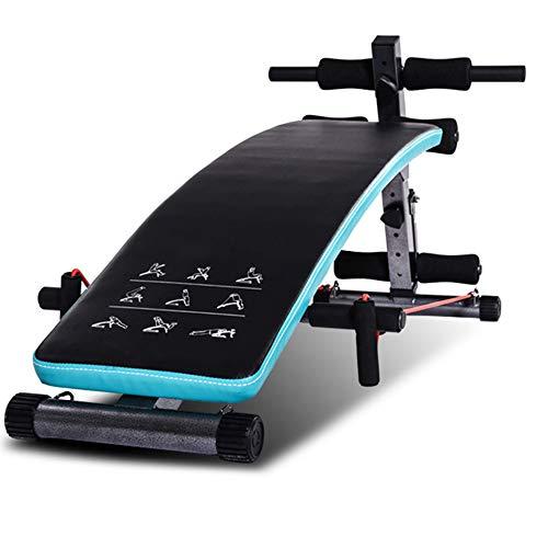 Poids Standard Bancs De Remise en Forme Chaise De Fitness Grand Banc Plat Equipement De Fitness Tabouret Ménagers Multifonctionnel Tabouret Abdominal Unisexe