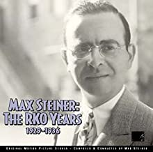 Max Steiner: The RKO Years 1929-1936 3 CD Set