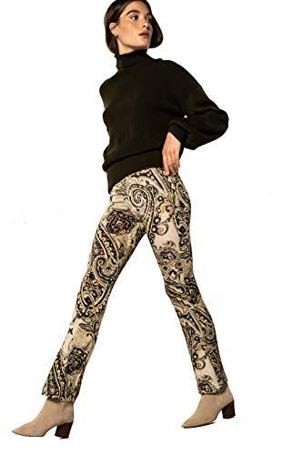 NAULOVER   Pantalones de Punto Circular (50)