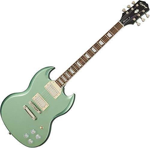 Epiphone SG Muse Wanderlust Green Metallic Guitarra Electrica