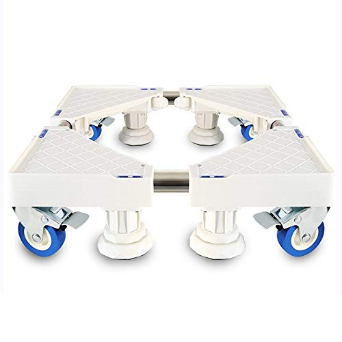 Waschmaschine Sockel, Untersatz Für Waschmaschine Trolley Für Geräterollen Verstellbarer, Beweglicher Desinfektionsschrank