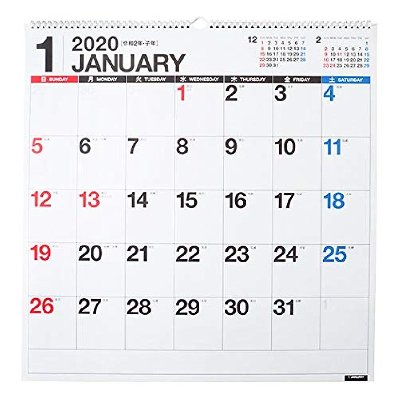 マニフェストアジャメディカル高橋 2020年 カレンダー 壁掛け B2変型 E31