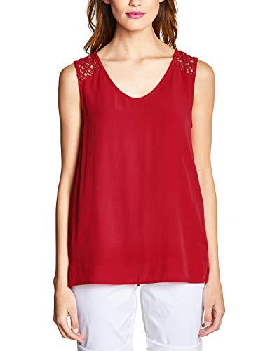 Street One Damen 341461 Bluse, Rot (Vivid red 11737), (Herstellergröße:42)