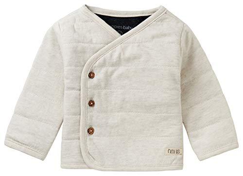 Noppies Baby-Unisex U Cardigan LS Hendrina Strickjacke, RAS1202 Oatmeal-P611, 62