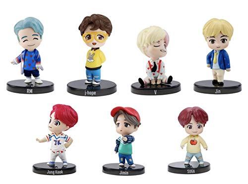 BTS Mini Idol Doll Set - All 7 Members