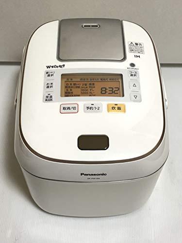 パナソニック 1升 炊飯器 圧力IH式 Wおどり炊き スノークリスタルホワイト SR-PW186-W