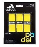 adidas Pádel OV - Set overgrip, Color Amarillo, Talla única