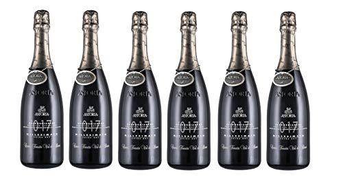 ASTORIA Valdobbiadene Prosecco Superiore Extra Dry Millesimato DOCG Cuvée Tenuta Val de Brun 2019 [ 6 FLASCHEN x 750ml ]