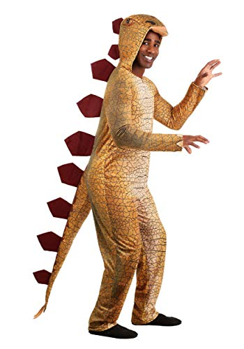 Disfraz de estegosaurio espinoso para adultos