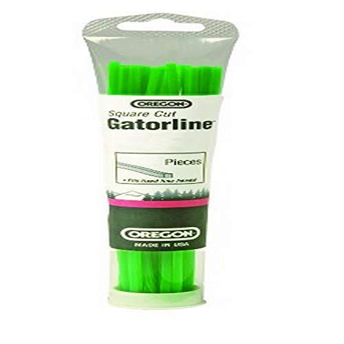 Oregon 19-005 Gatorline Square String Trimmer Line Precut .155-Inch Diameter x 18-Inch Length 24-Piece Tube