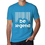 One in the City Hombre Camiseta Vintage T-Shirt Barcode Be L