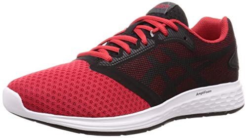 Asics Patriot 10, Zapatillas de Running para Hombre, Rojo (Classic Red/Steel Grey 600), 43.5 EU