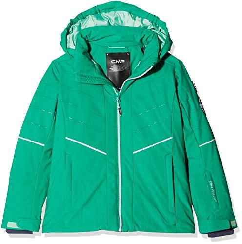 CMP Mädchen Wattierte 7000 Skijacke Jacke, Emerald, 164