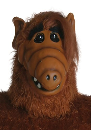 Fun Costumes Adult Overhead Alf Mask Standard