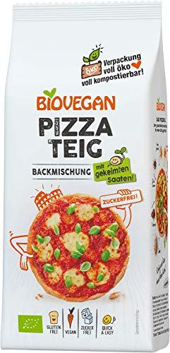 Biovegan Bio Pizzateig Backmischung, BIO (6 x 300 gr)