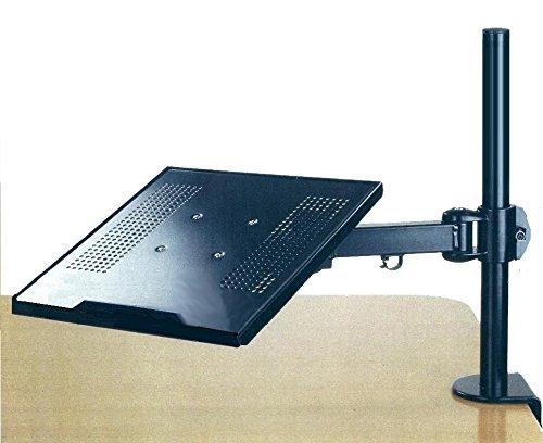 EZM Notebook/Laptop Arm Extenstion Mount Desktop Stand Clamp with Grommet Mount Option (002-0005)