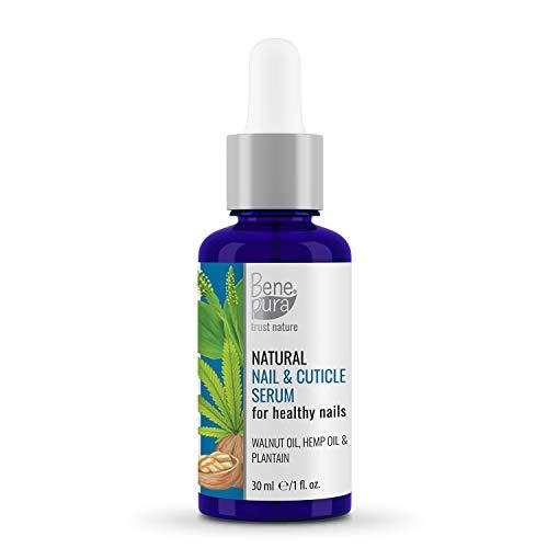 BenePura Nagelöl - Reparaturen & Stärken - Natürliche Kräuterölextrakte 30 ml - Für gesunde Nägel - Keine Tierversuche, Frei von Konservierungsstoffen, Gluten-frei, Vegan, Handgefertigt in der EU
