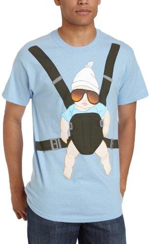 Ripple Junction Herren T-Shirt The Hangover - Blau - X-Groß
