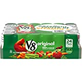 V8 Original 100% Vegetable Juice, 5.5 oz. Can (Pack of 24)