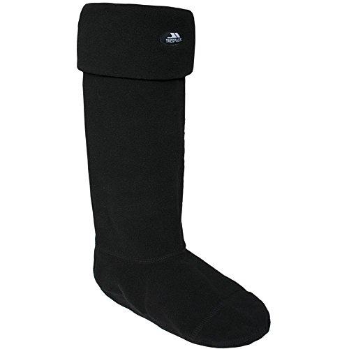 Trespass Unisex Snugz Gummistiefel-Socken / Stiefelsocken (Small) (Schwarz)
