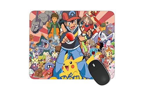 JNKPOAI Pokemon Mouse Pad Personalized Custom Mouse Pad Office Anti-Slip Game Mouse Pad Souvenir Mouse Pad (Pokemon)