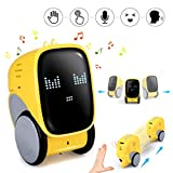 Pickwoo Smart Robot Toy for Kids, Intelligent STEM Educational Robotic Toy with Voice&Gesture