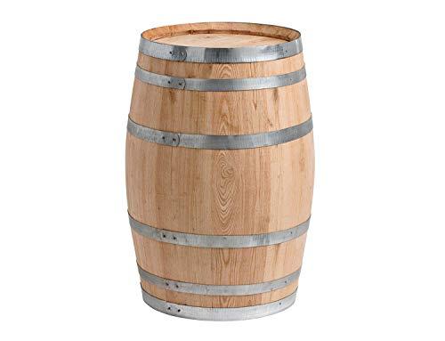 150 Liter Holzfass, neues Fass, Weinfass aus Kastanienholz geschlossen als Stehtisch, Bistrotisch (Fass unbehandelt)