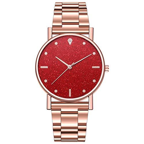 2021 Relojes de lujo Reloj de cuarzo de acero inoxidable Dial Casual Bracelet Watch