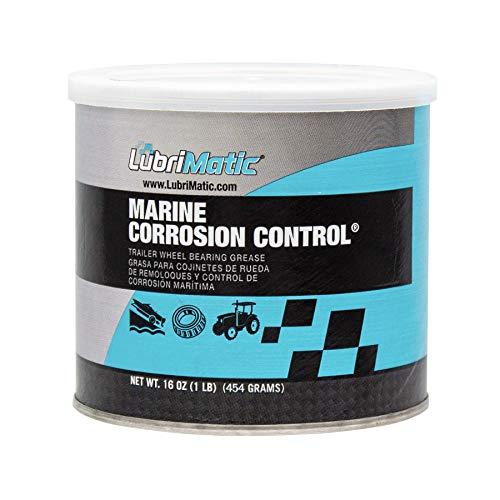 Plews & Edelmann LubriMatic 11404 Marine Trailer Wheel Bearing and Corrosion Control Grease, 16 oz. Can, Blue, Aqua