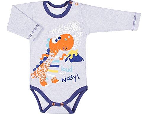 Be Mammy Body Mangas Largas Ropa Bebé BEEK0022 (Mezcla de Color/Dragón, 86)