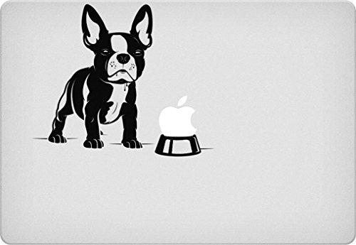 French Bulldog Bowl Macbook Decal