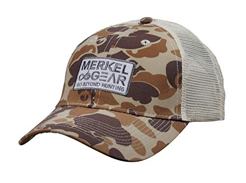 Merkel Gear Camo Mesh Casquette