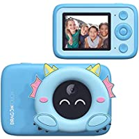 Dragon Touch Kids Camera with AI Recognition (Blue)